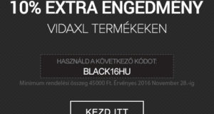Black Friday a VidaXL.hu-n is!